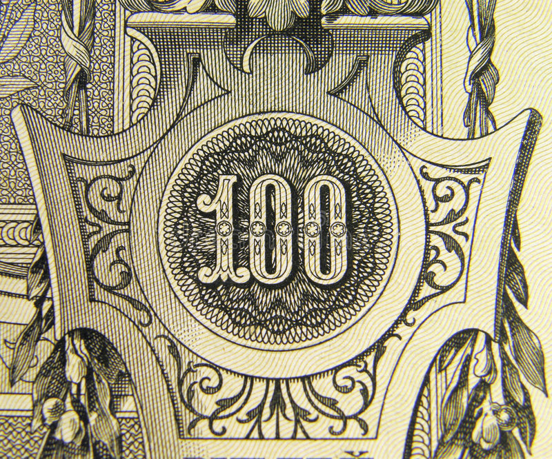 Download Hundred stock image. Image of bill, luxury, pattern, concepts - 8000157