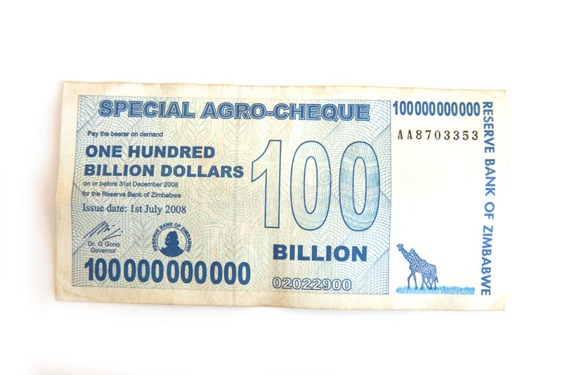 Download Hundred Billion Dollar Note Stock Photo - Image of high, hundred: 6422400