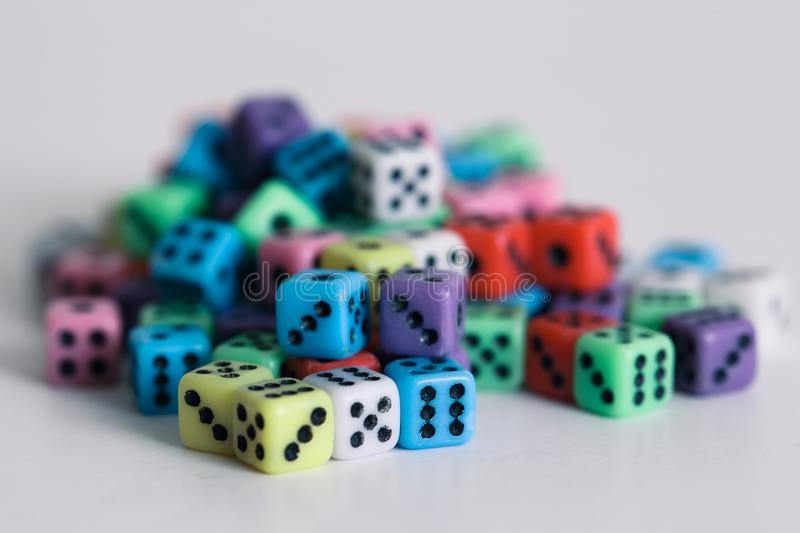 Dices royalty free stock photography