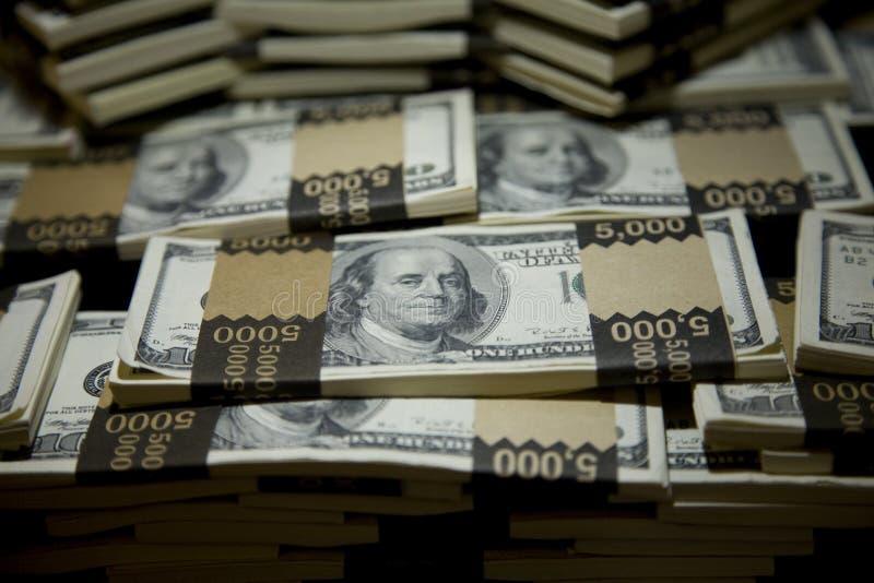 Download Hundred Dollar Bill Bundles 2 Stock Photo - Image: 4648468