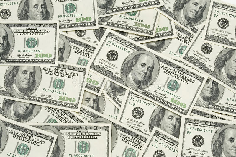 Download Hundred dollar bills stock photo. Image of finances, many - 12659092