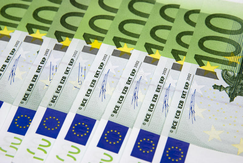 Download Hundred Euro background stock photo. Image of business - 12618252