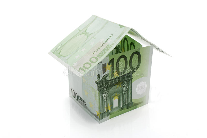 Download Hundred Euros Banknotes House Stock Photo - Image of euro, payment: 27644882