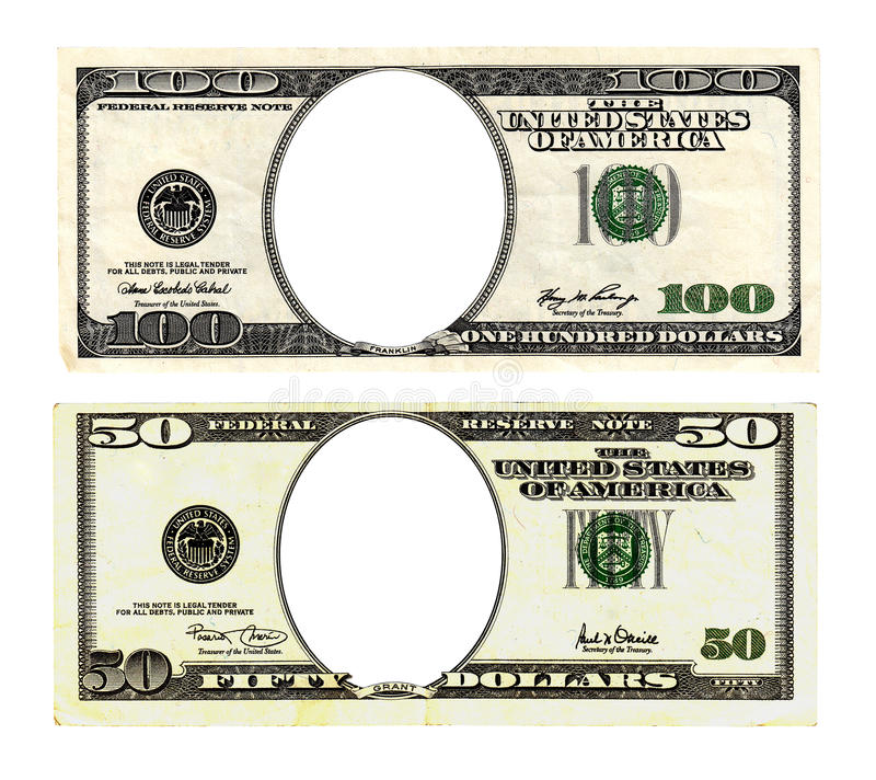 Download Hundred And Fifty Dollars Bills On White Background. Stock Image - Image: 40792879
