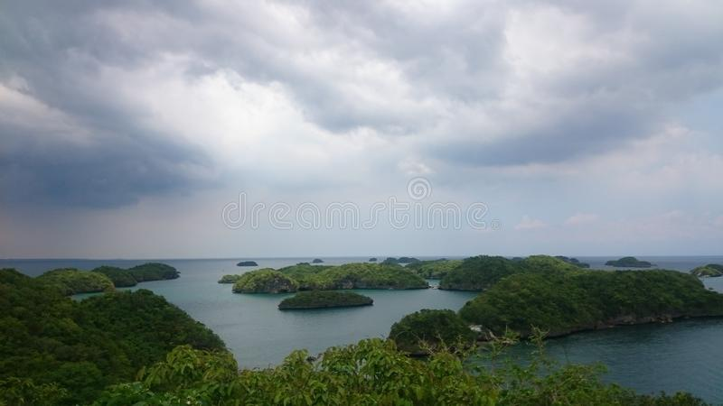 Hundred Islands stock photography