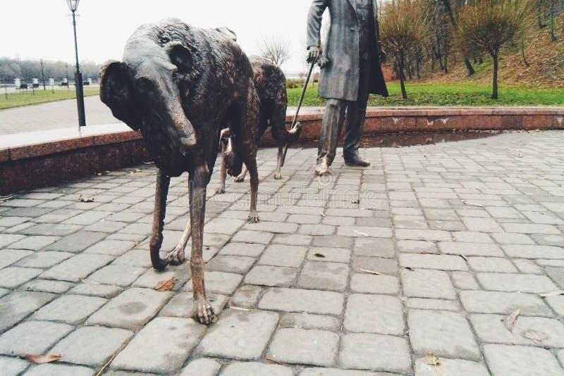 Hunds liv royaltyfria foton