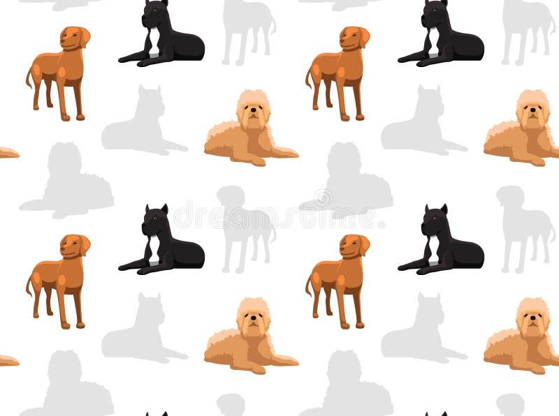 Hundtapet 38 vektor illustrationer