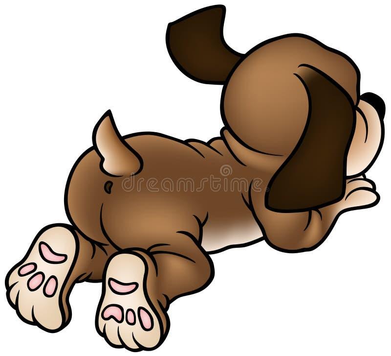 hundvalp stock illustrationer