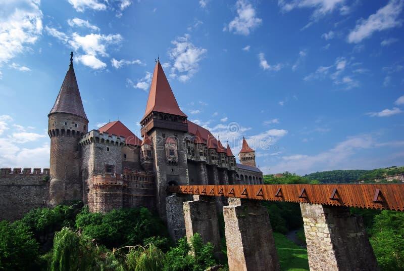 Hunedoara castle royalty free stock images