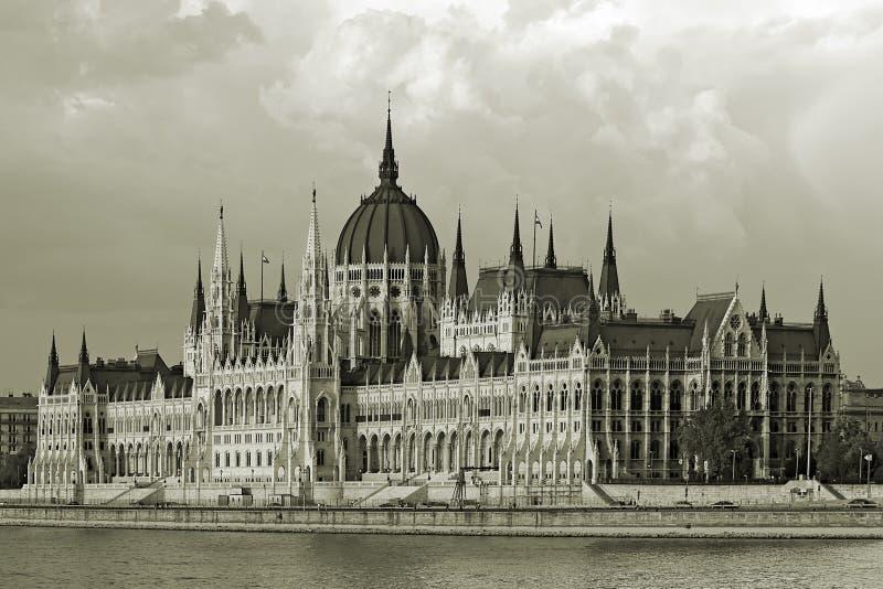 Hungaian Parlament stockfotografie