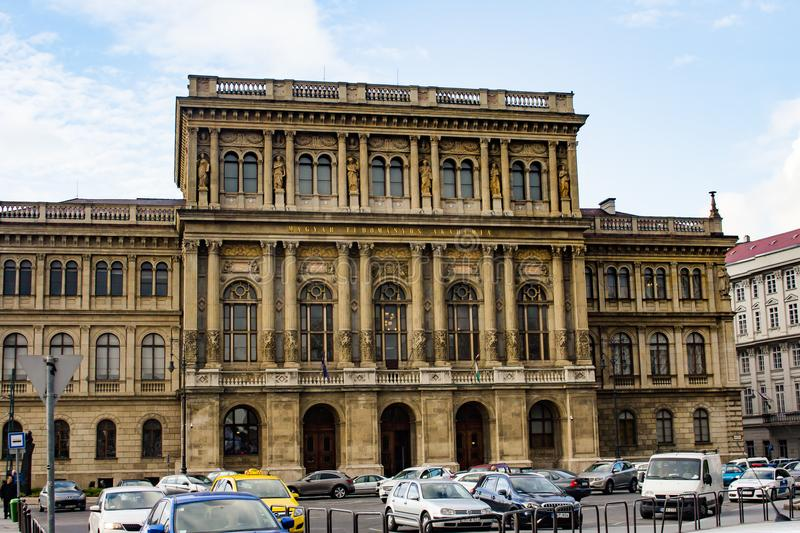 The Hungarian Academy of Sciences stock image