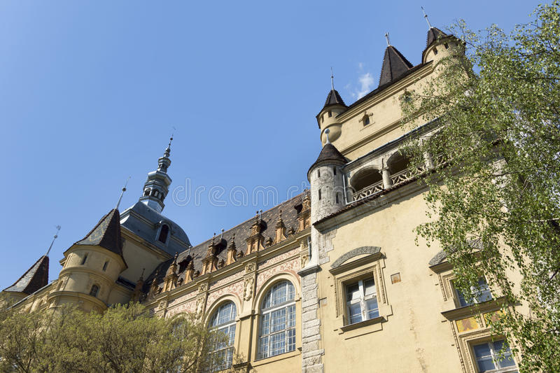 Download Hungarian Agricultural Museum With Blue Sky Stock Photo - Image: 25222650