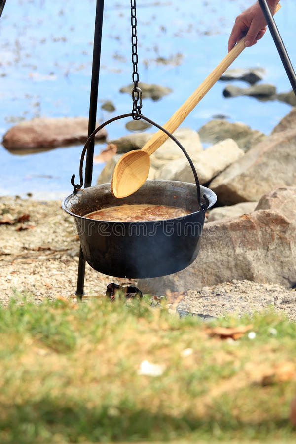 Free Hungarian Fish Soup Stock Image - 13250081