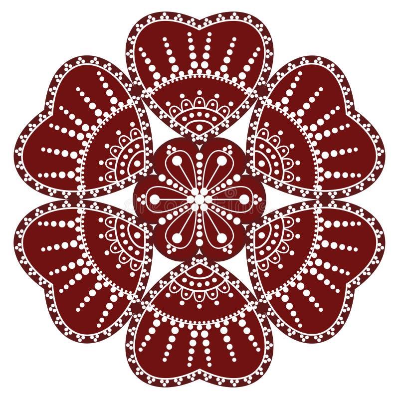 Hungarian Folk Ornament Stock Photography