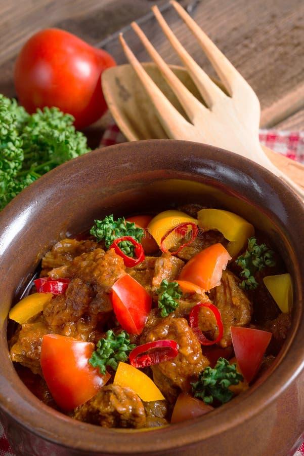Hungarian goulash stock images