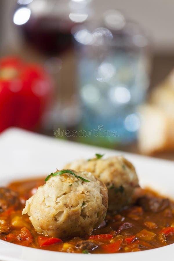 Hungarian goulash stew royalty free stock photos