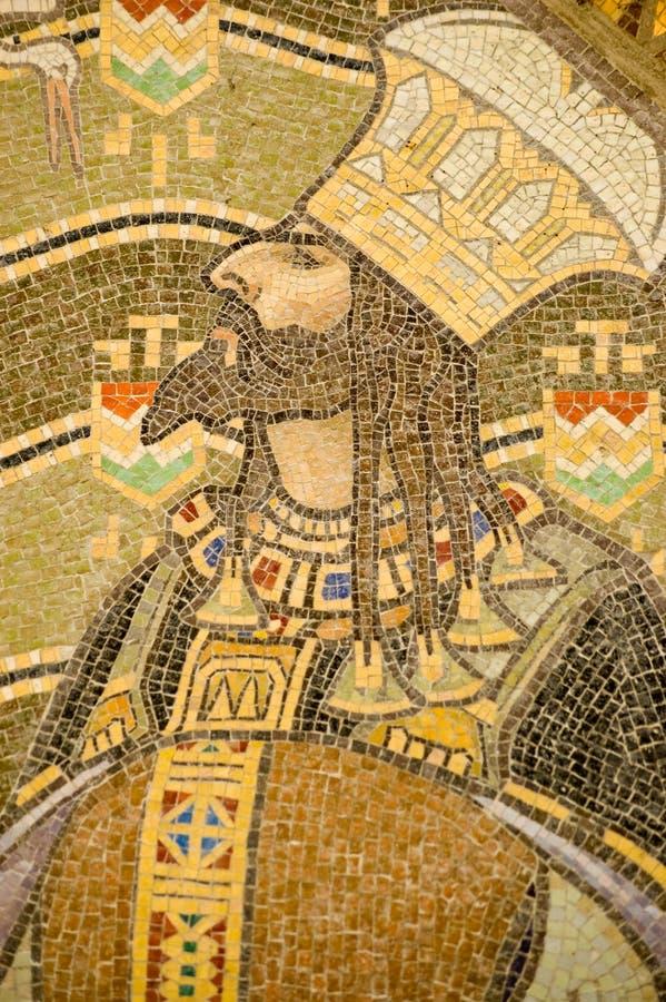 Hungarian King mosaic