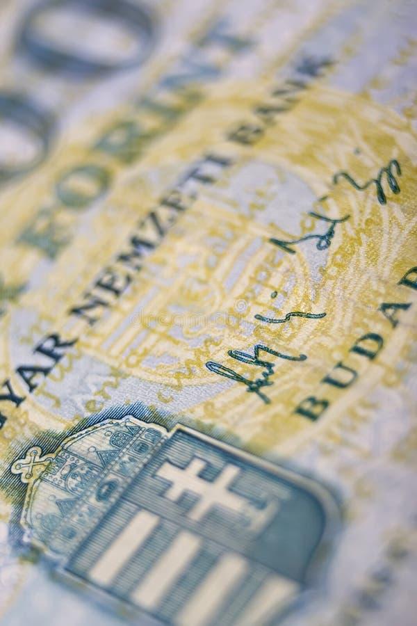 Hungarian one thousand macro royalty free stock photography