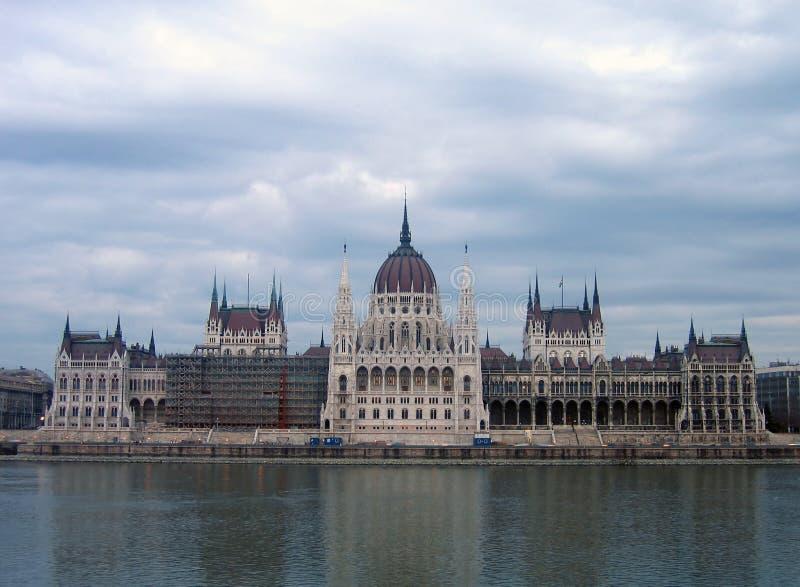 Hungarian Parlament Budapesztu Obrazy Stock