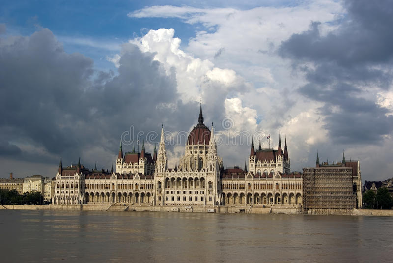 Hungarian Parliament royalty free stock photo