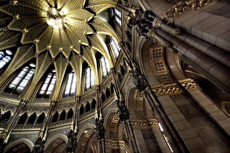 Download Hungarian Parliament stock photo. Image of interior, district - 5032500