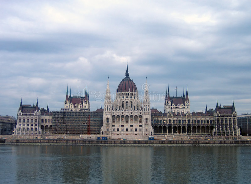 The Hungarian Parliament - Budapest Stock Images