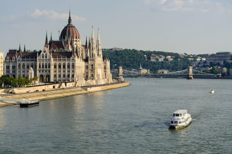 Hungarian Parliament, Budapest royalty free stock photos