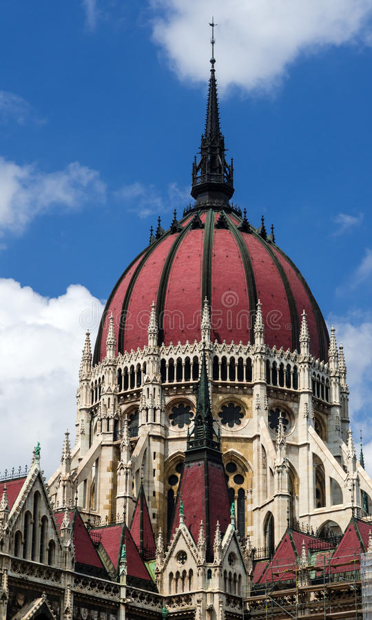 Download Hungarian Parliament Dome, Orszaghaz Stock Image - Image: 26611711