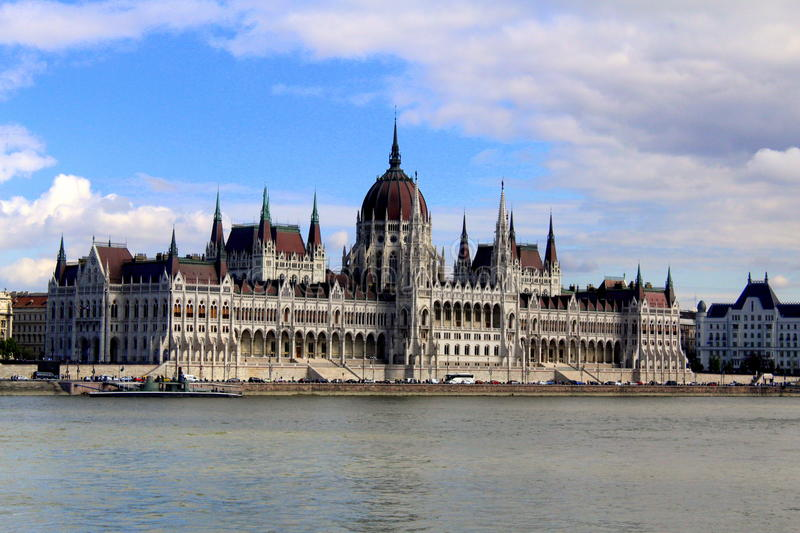 Hungarian Parliament royalty free stock photos