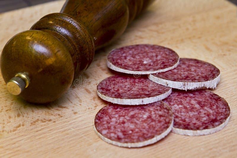 Hungarian Salami Royalty Free Stock Image