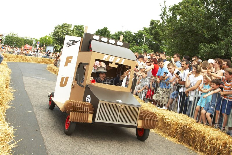 Download Hungarian Soap box race editorial photo. Image of cars - 5371796