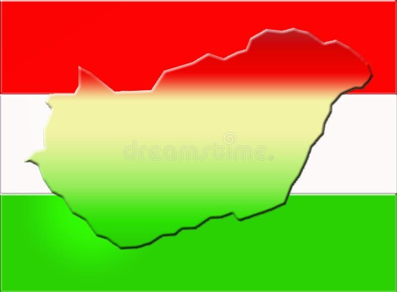 Download Hungary flag stock illustration. Illustration of nation - 7036511