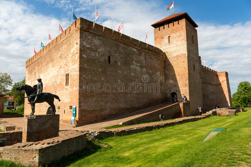 Hungary. Gyula Castle in beautiful Hungary royalty free stock photography