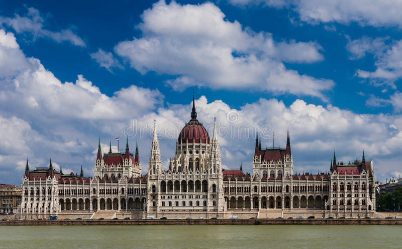 Download Hungary Parliament And Danube River, Budapest. Stock Photo - Image: 26611708