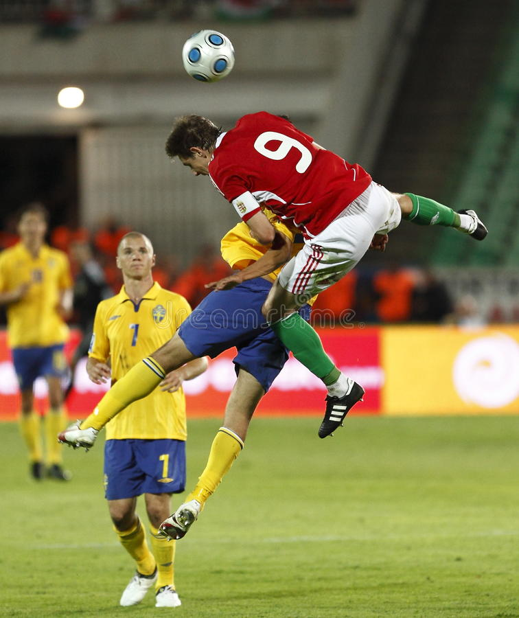 Download Hungary Vs Sweden, FIFA World Cup Qualifier Editorial Image - Image: 10822080
