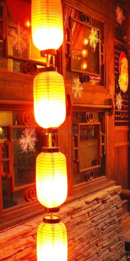 hunged lantern royalty free stock photo