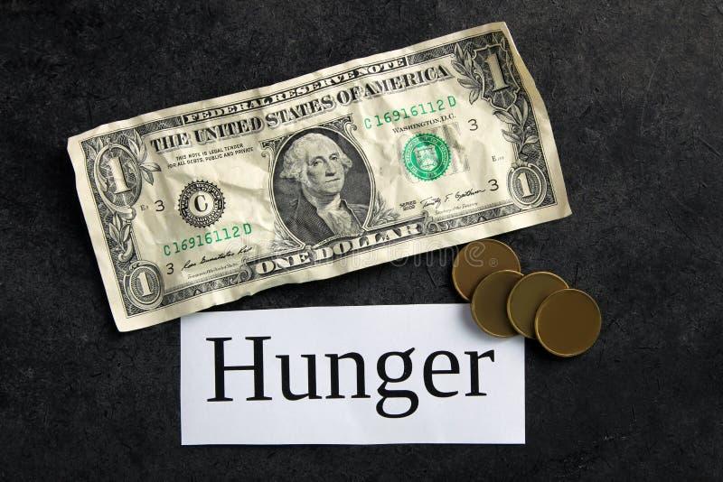 hunger stockfotografie