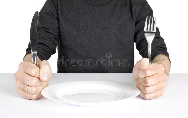 Hungry royalty free stock images