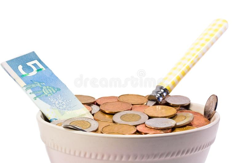 Hungry for Cash stock images