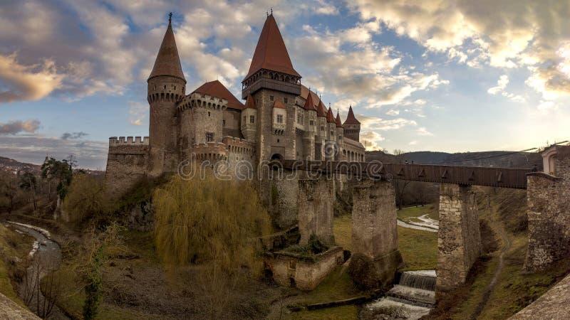 Huniad Castel fotografía de archivo libre de regalías