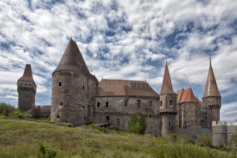 Huniazilor Schloss lizenzfreie stockbilder