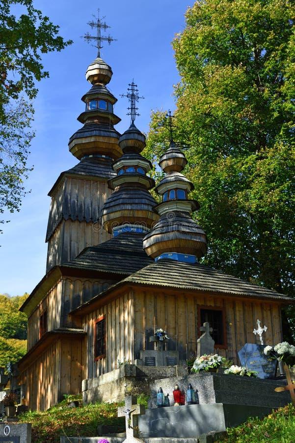 Hunkovce Church, Slovakia stock photos