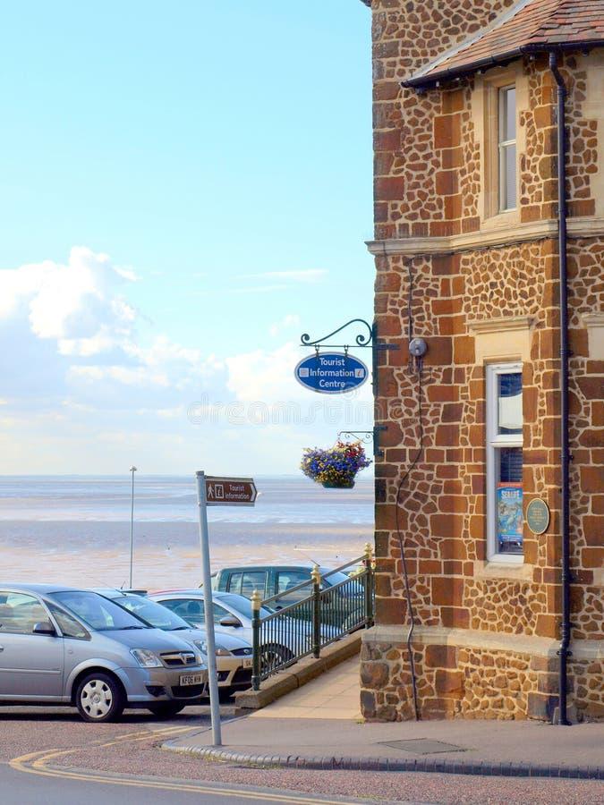 Tourist information, Hunstanton, Norfolk. stock image