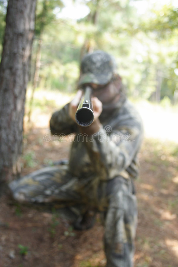 hunt huntera fotografia stock