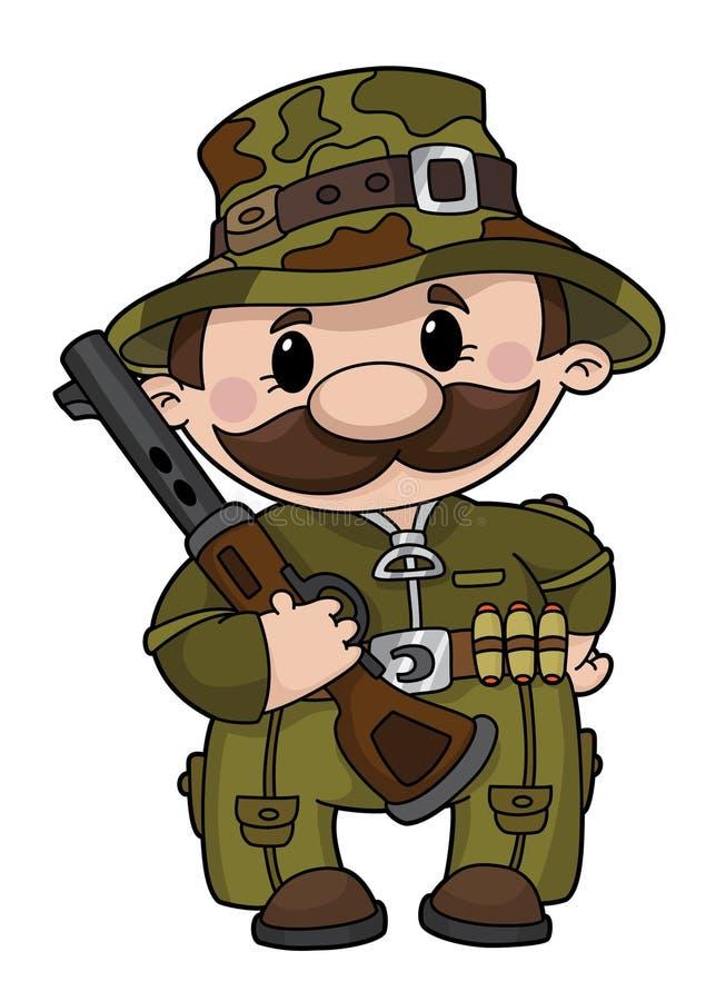 Download Hunter stock vector. Image of cartoon, hunting, shotgun - 17414575