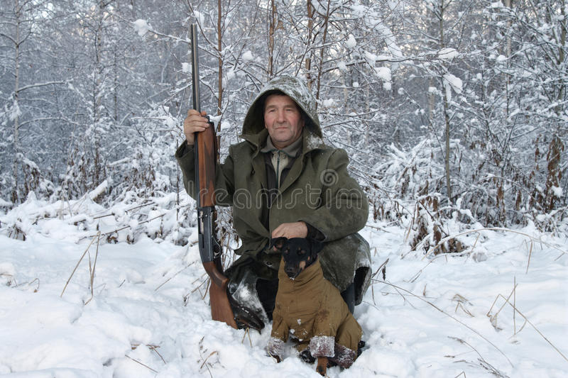 Download The hunter stock photo. Image of color, outdoors, jagdterrier - 20772564