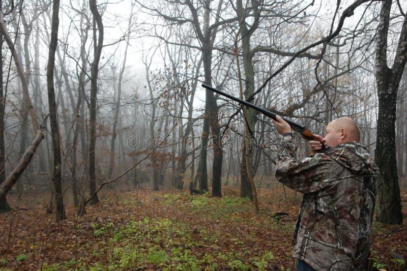 Download Hunter stock photo. Image of hunter, moss, trunk, tree - 22130984