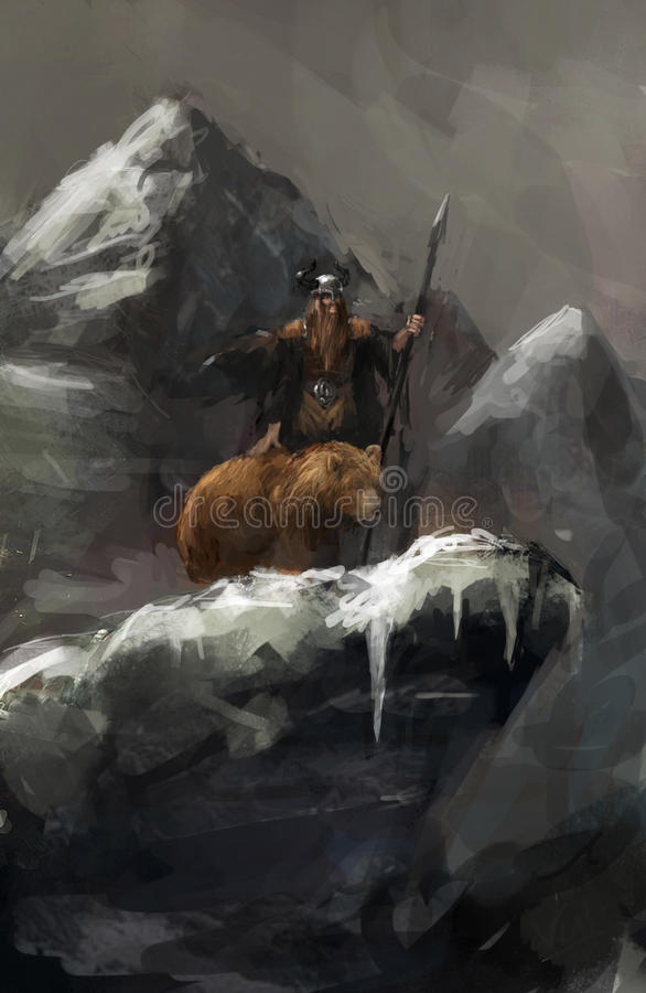 Hunter stock illustration