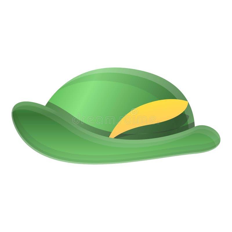 Hunter hat icon, cartoon style royalty free illustration