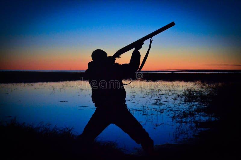 Hunter stock photo